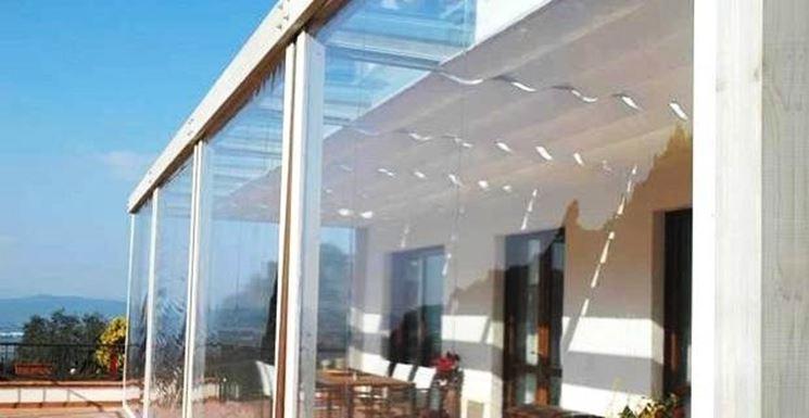 Nuova fornitura e installazione di tende ermetiche lampo con guida antivento ad opera della zilvetti tendaggi. Tende Per Esterni Trasparenti Tende E Tendaggi Le Migliori Tende Per Esterni Trasparenti