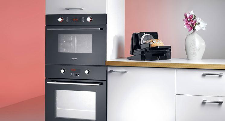 Modelli di forni da incasso  Componenti cucina