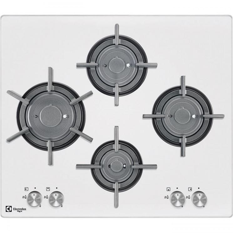 Modelli di piano cottura bianco  Componenti cucina  Tipologie e differenze piani cottura bianchi