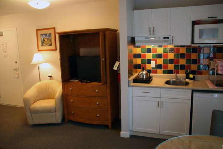 Angolo cottura in soggiorno  La cucina  Consigli per costruire langolo cottura in soggiorno