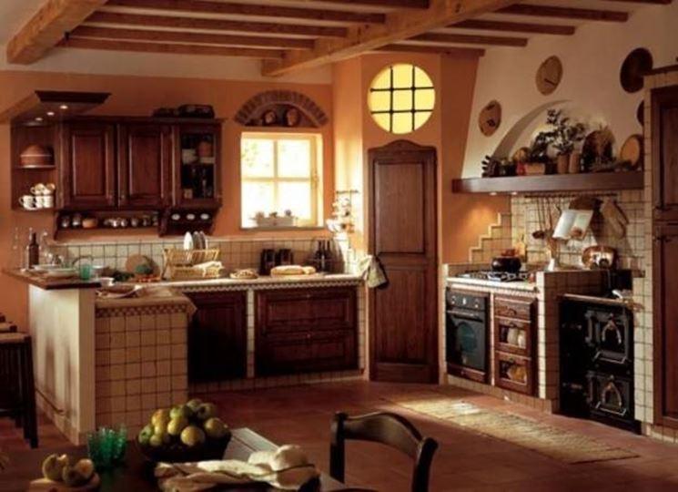Caratteristiche delle cucine in arte povera  La cucina  Cucine arte povera