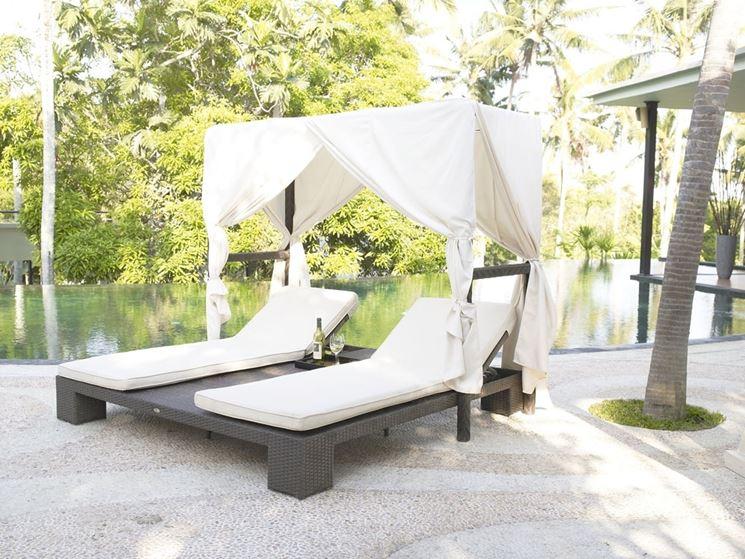 Letti da esterno  Arredo Giardino  Scegliere i letti da esterno per il giardino