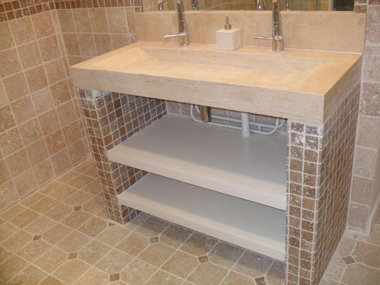 Bagno in muratura  Bagno e sanitari  Arredo bagno