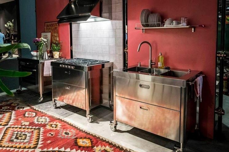 Cucine free standing  Cucine  La comodit delle cucine