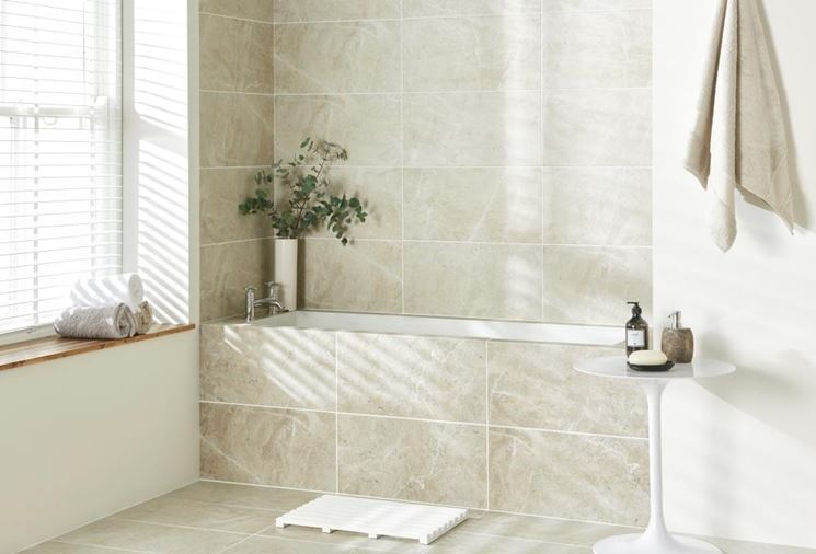 Mattonelle per bagno  Tipi di mattonelle  Scegliere le mattonelle per bagno