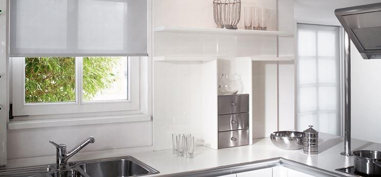 Tende cucina  Tendaggi per interni  Modelli e tipologie di tende cucina