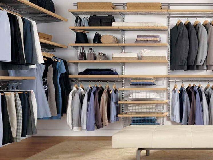 Cabine armadio  Mobili casa  idee e consigli per una cabina armadio