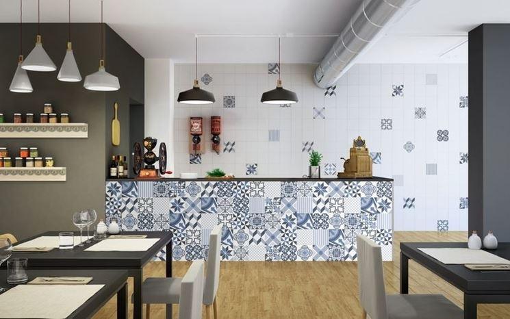 Rivestire con piastrelle la cucina  Piani cucina  Come fare per piastrellare piani cucina