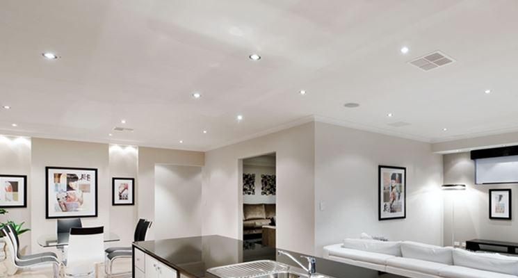 Faretti led  Illuminazione della casa  Installazione