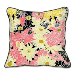 Casart coverings Flower Power Botanical Pillow Slipcover