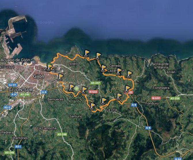 Ruta Deva-Arroes-Quintueles-Ñora