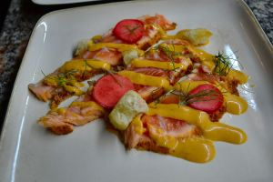 Salmon tonnato