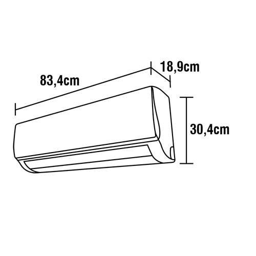Ar-Condicionado Split LG Dual Inverter Voice S4-Q12JA31C