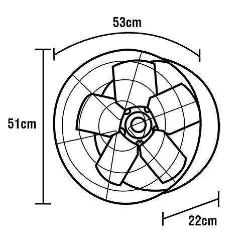Ventilador Axial Exaustor Ventisol Industrial Premium