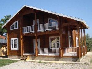casa de madera proyectos de Casas Carbonell