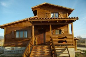 Casa prefabricada de madera Nadia Fantom de Casas Carbonell