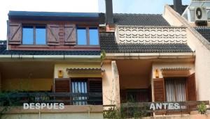Cubierta de terrazas y porches