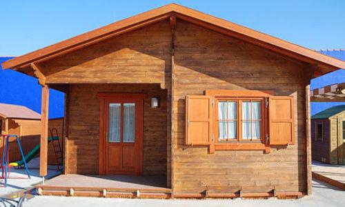 Casas de madera hasta 70 m2  modelos y precios  Daype