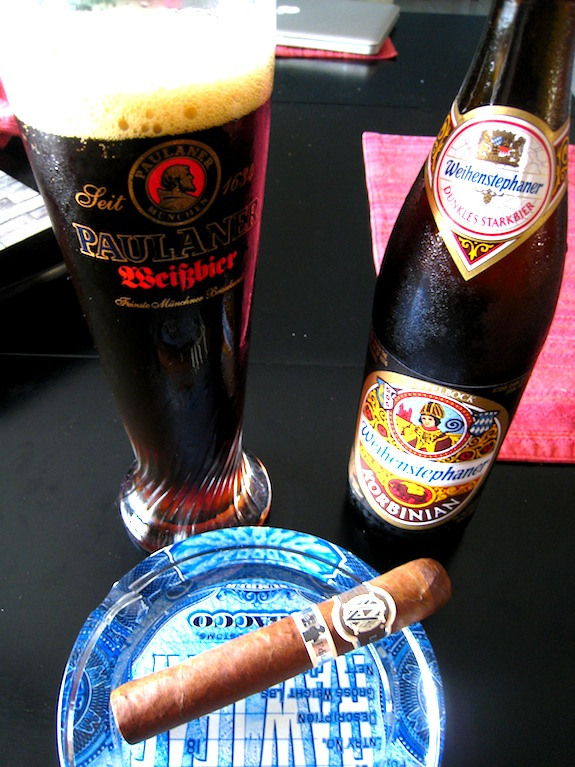 AVO LE10 and Weihenstephaner Korbinian