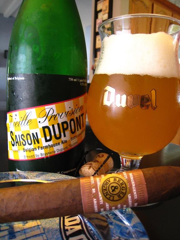 Berger & Argenti Entubar Quad Maduro and Dupont Saison