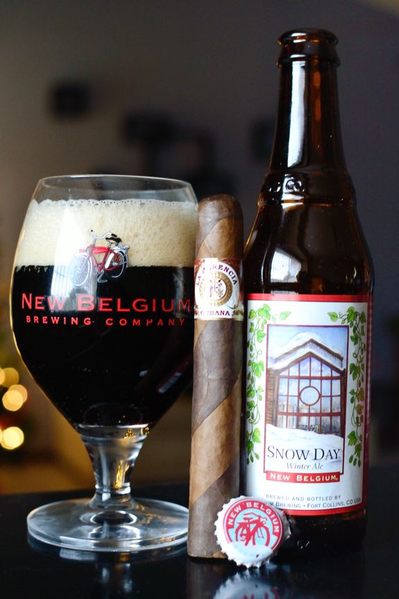 La Herencia Dos Capas with New Belgium Snow Day