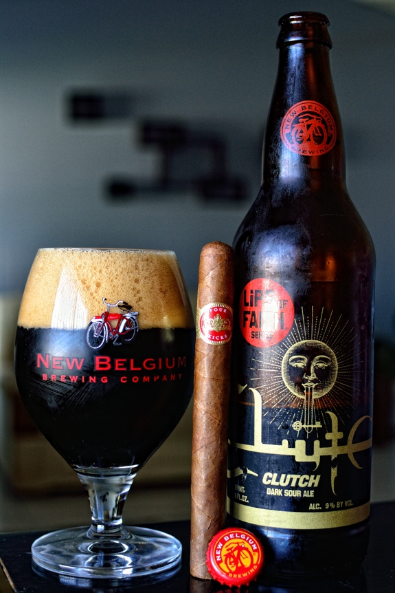 Crowned Heads Four Kicks with New Belgium Clutch