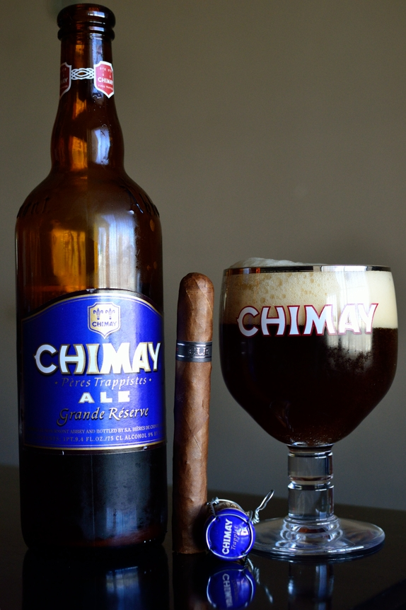 CLE Corojo with Chimay Grande Reserve