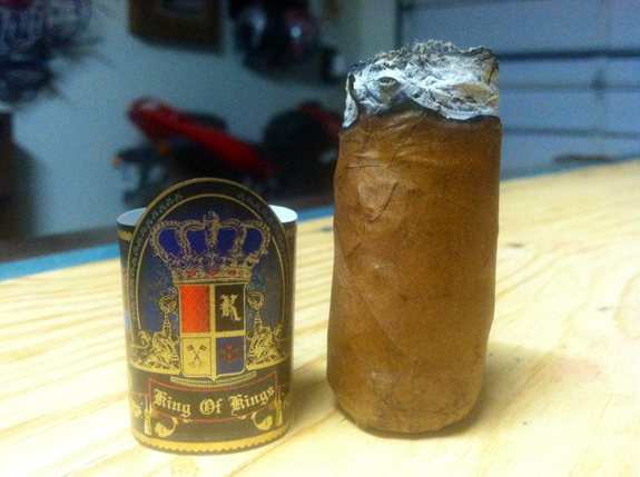 King Cigars - King of Kings (Wrap-up)