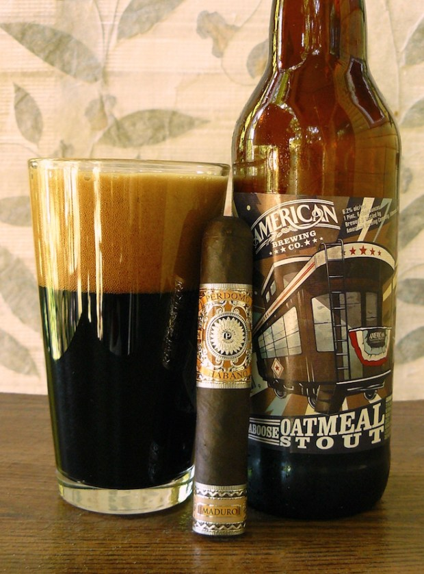 American Brewing Caboose Oatmeal Stout