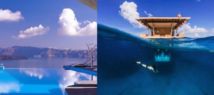 Ξενοδοχεία του κόσμου πέρα και από την πιο τρελή φαντασία (Στην τρίτη θέση η Σαντορίνη)