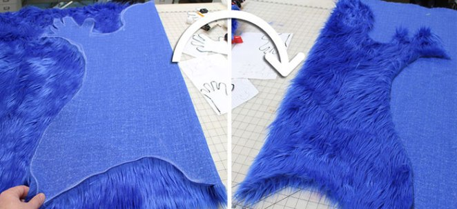 cookie-monster-rug-being-made