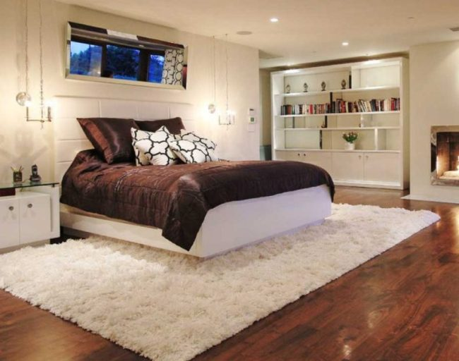 how-do-you-place-a-rug-in-a-bedroom