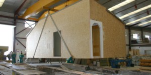 Transporte casas modulares