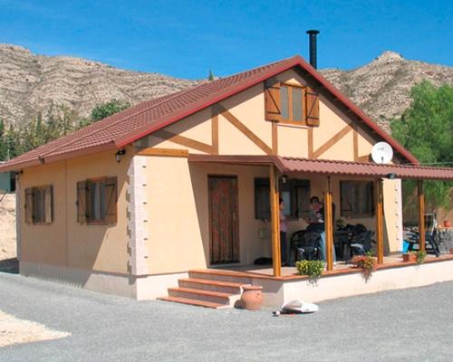 Casa de madera modular Alicante
