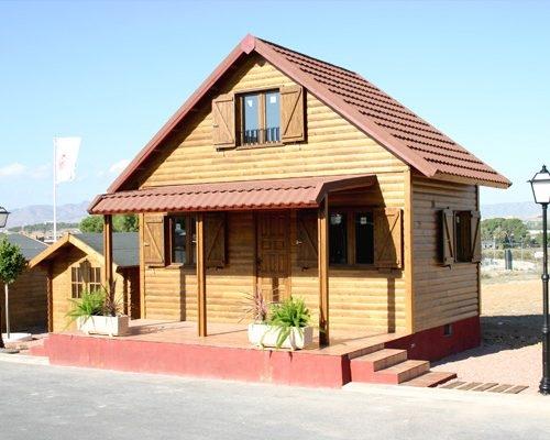 Casa de mdera modular modelo Ibiza II