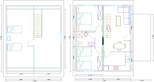 Vivienda modular de madera