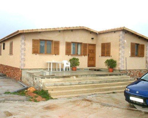 Casa de una planta modelo Mediterráneo II