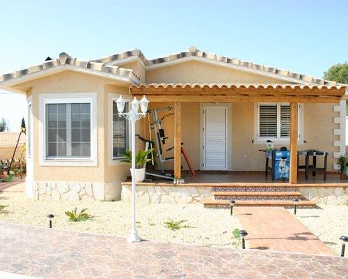 Casa de madera mediterráneo E