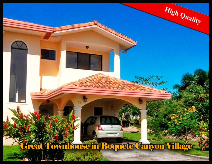 Great Townhouse for Sale in Boquete Canyon Village