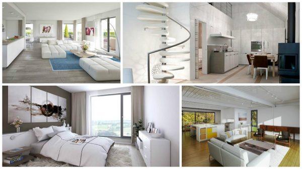 Interiores en Casas Prefabricadas  Caractersticas Opiniones y Fotos