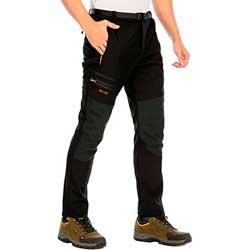 Pantalones Trekking Hombre Impermeab