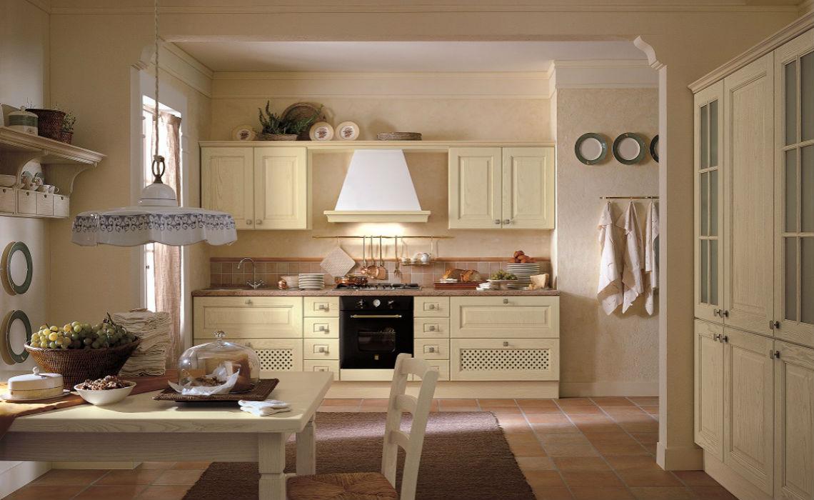 Cucina classica con anta in legno massello  Casastore Salerno