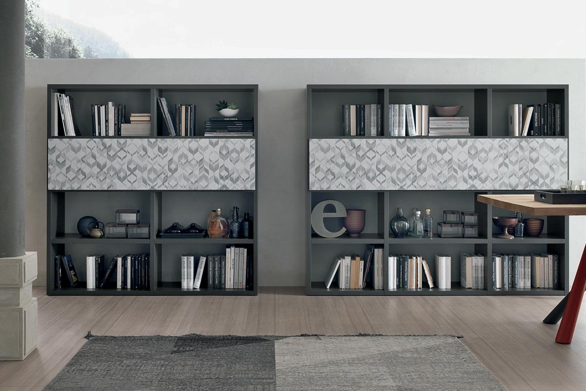 Librerie Componibili a spalla  Mobili per il Soggiorno