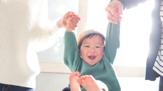 1歳半の男の子