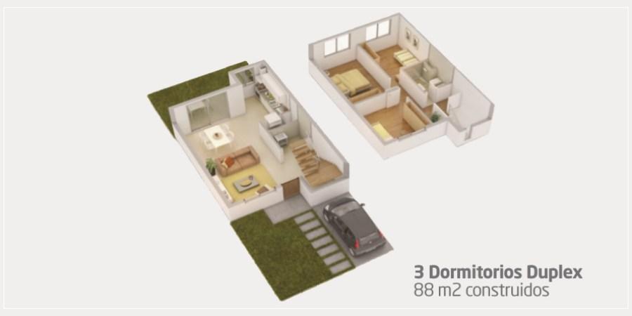 3 Dormitorios Duplex