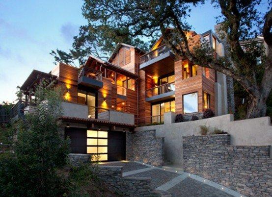 Casa residencia de estilo contemporneo  Casa Hillside