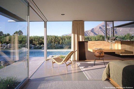 Casa moderna para unas vacaciones en el desierto  Casa