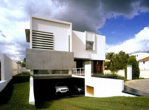 Fachadas de casas modernas 2018 de