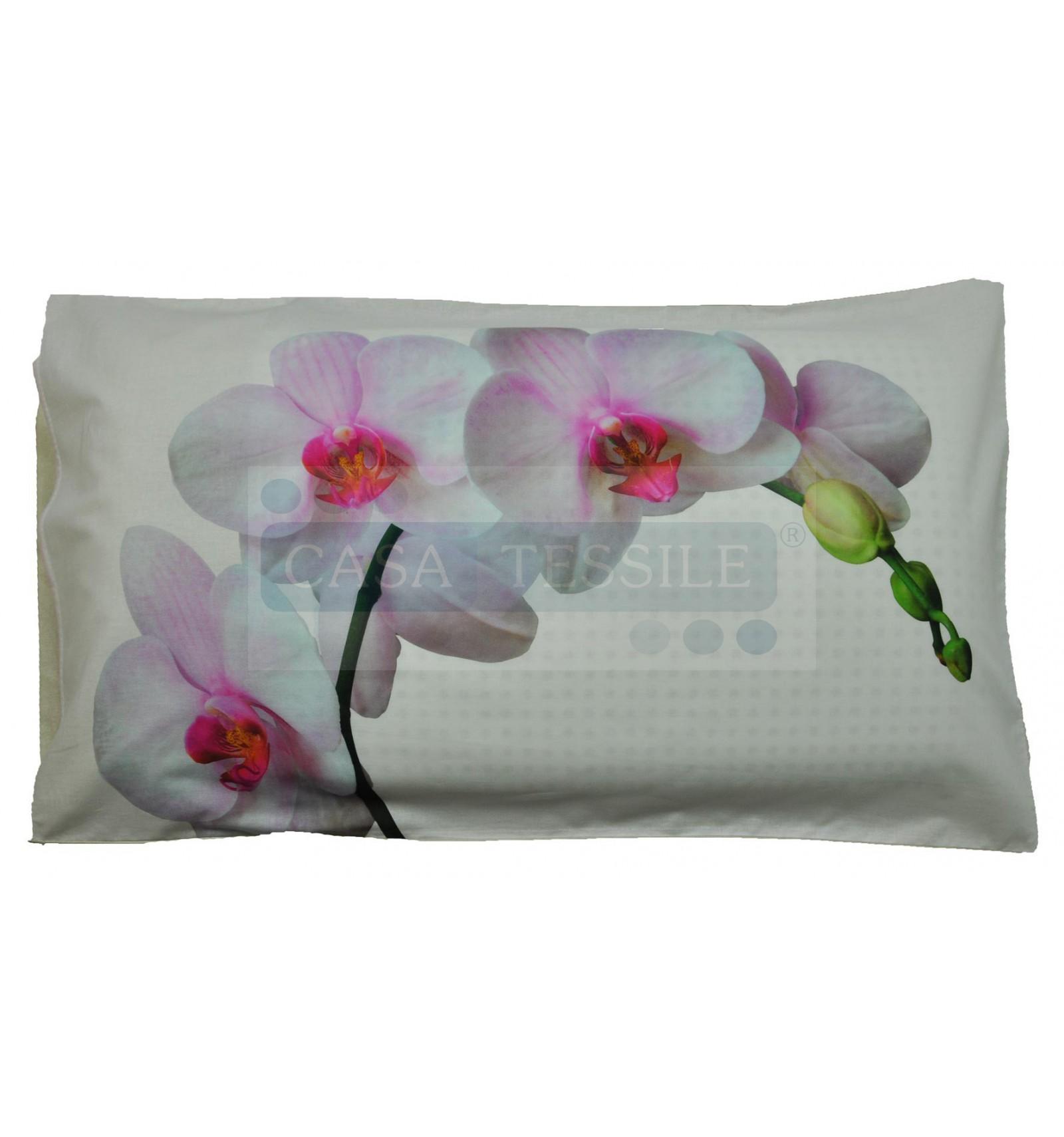 Federa cuscino letto stampa fotografica Orchidea  CasaTessile