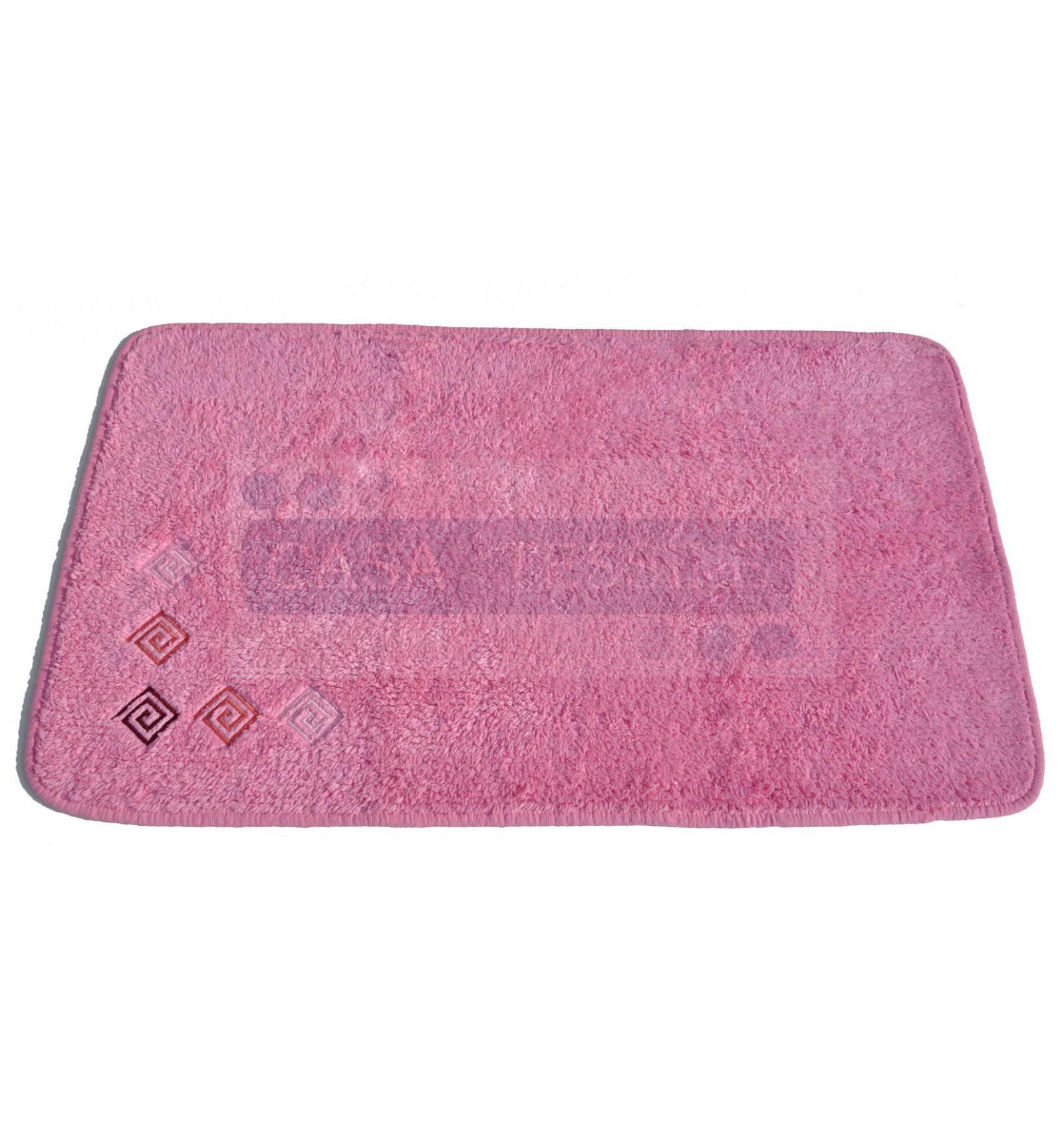 Ricamato tappeto bagno cm 55x90  CASA TESSILE